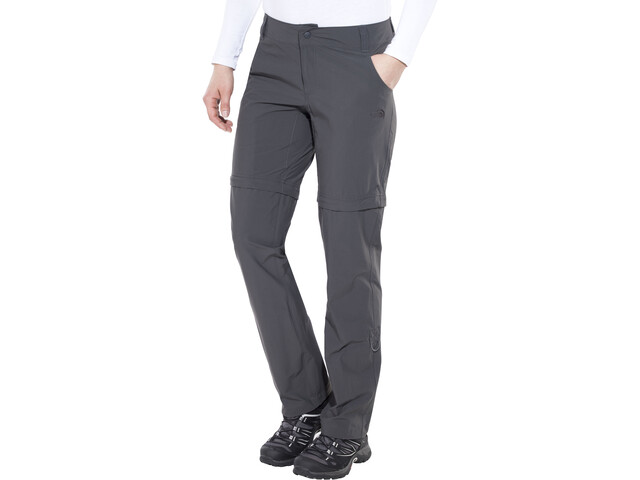 c79bf0796 The North Face Exploration Convertible Pants short Size Women asphalt grey